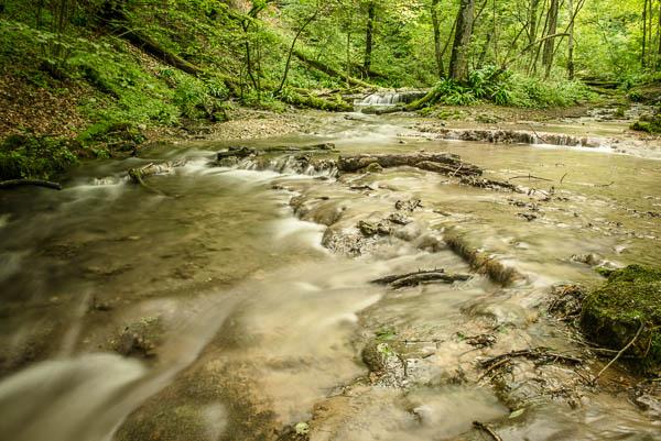 Brühlbach am Uracher Wasserfall