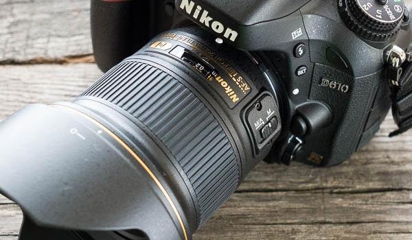 Vollformat Spiegelreflexkamera