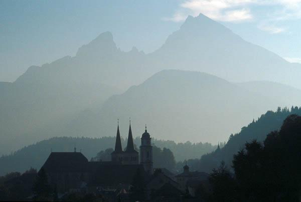 Watzmann und Berchtesgaden