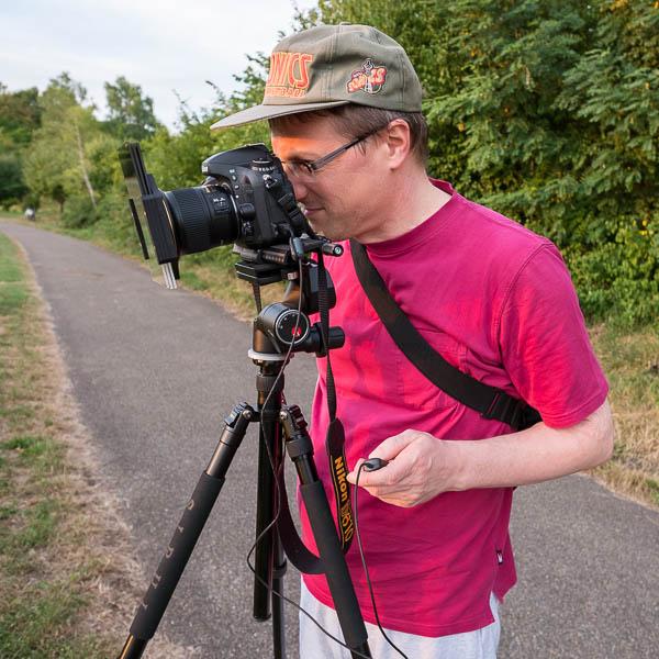 Landschaftsfotografie mit Stativ und Fernauslöser