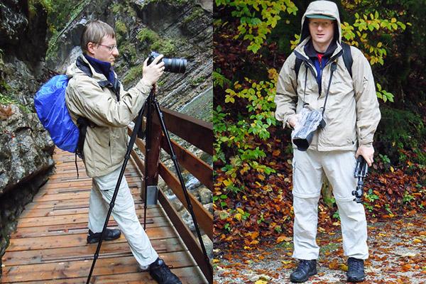 Regenschutz für die Kamera bei Aufnahmen im Freien