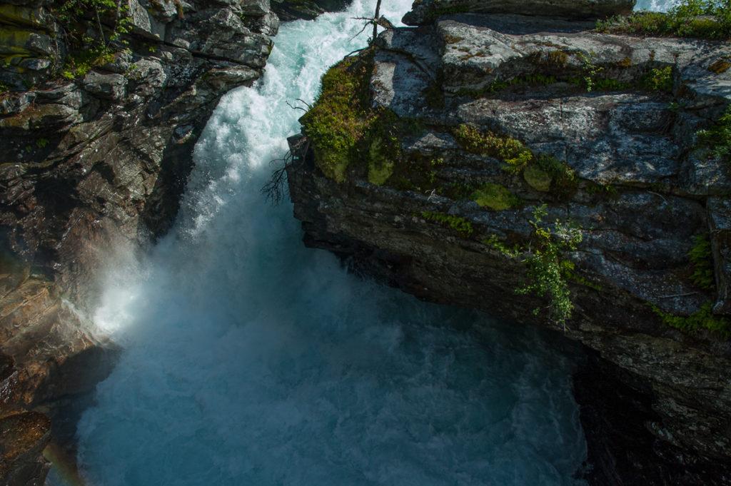 Geknipster Wasserfall