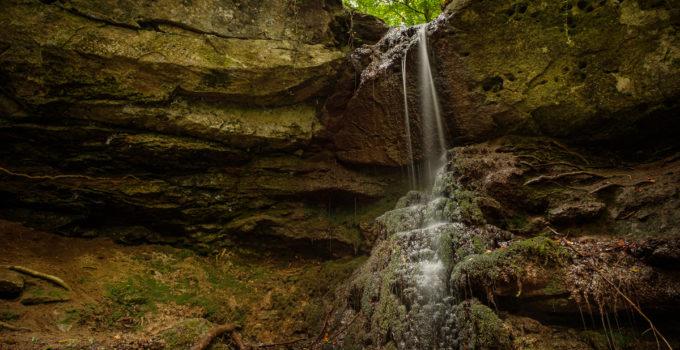 Wasserfall bei Grunbach