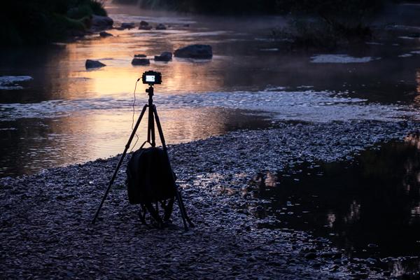 Gründe gegen die Landschaftsfotografie - Fotostativ schleppen